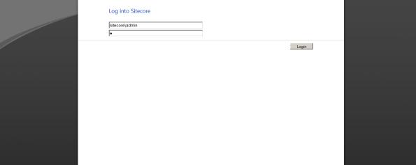 Sitecore-Admin-Login