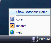 show-databse-name