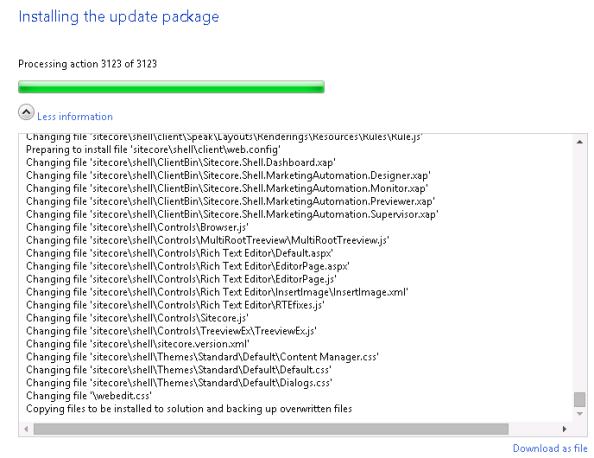 Sitecore-Upgrade-Hung